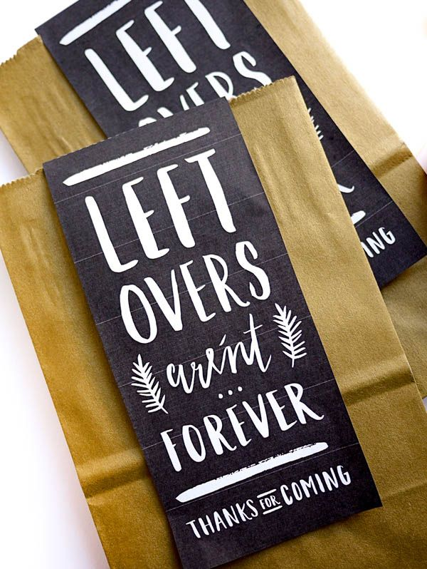 Leftover labels via Oh Happy Day