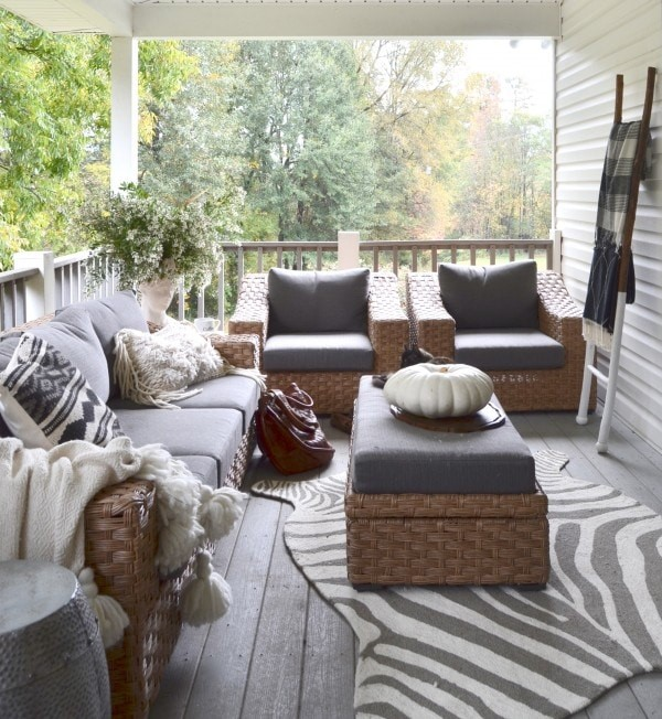 Outdoor space via The Nester