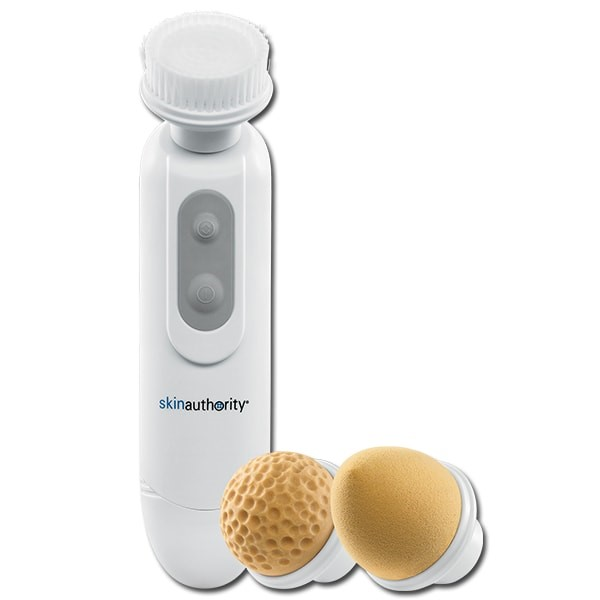 Skin Authority 3-in-1 Cleansing Brush