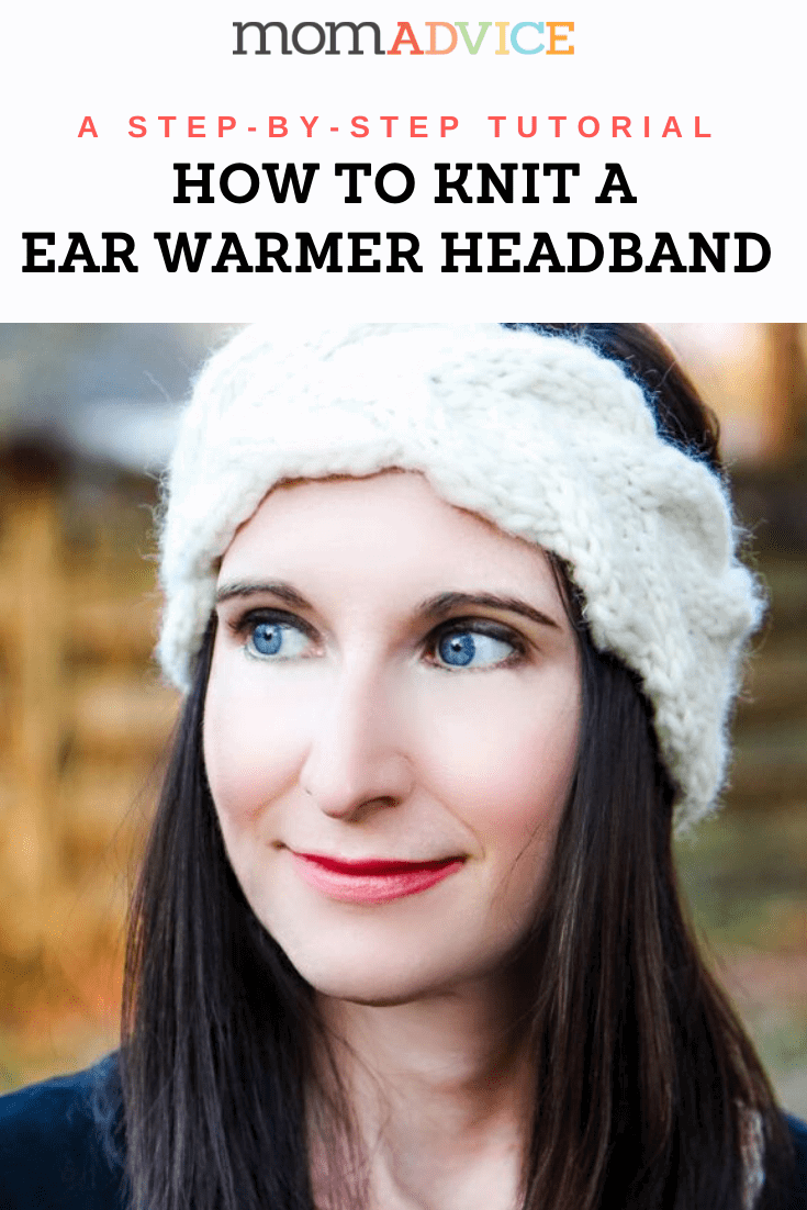 How to Knit an Easy Warmer Headband from MomAdvice.com