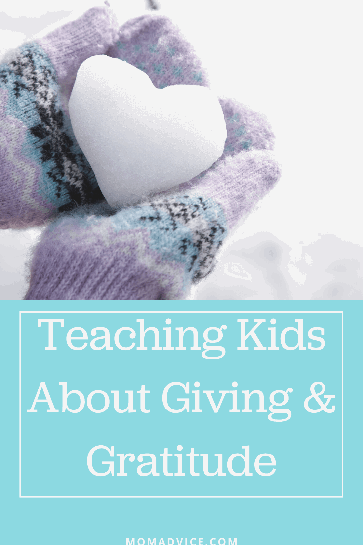Teaching Kids About Giving & Gratitude MomAdvice.com