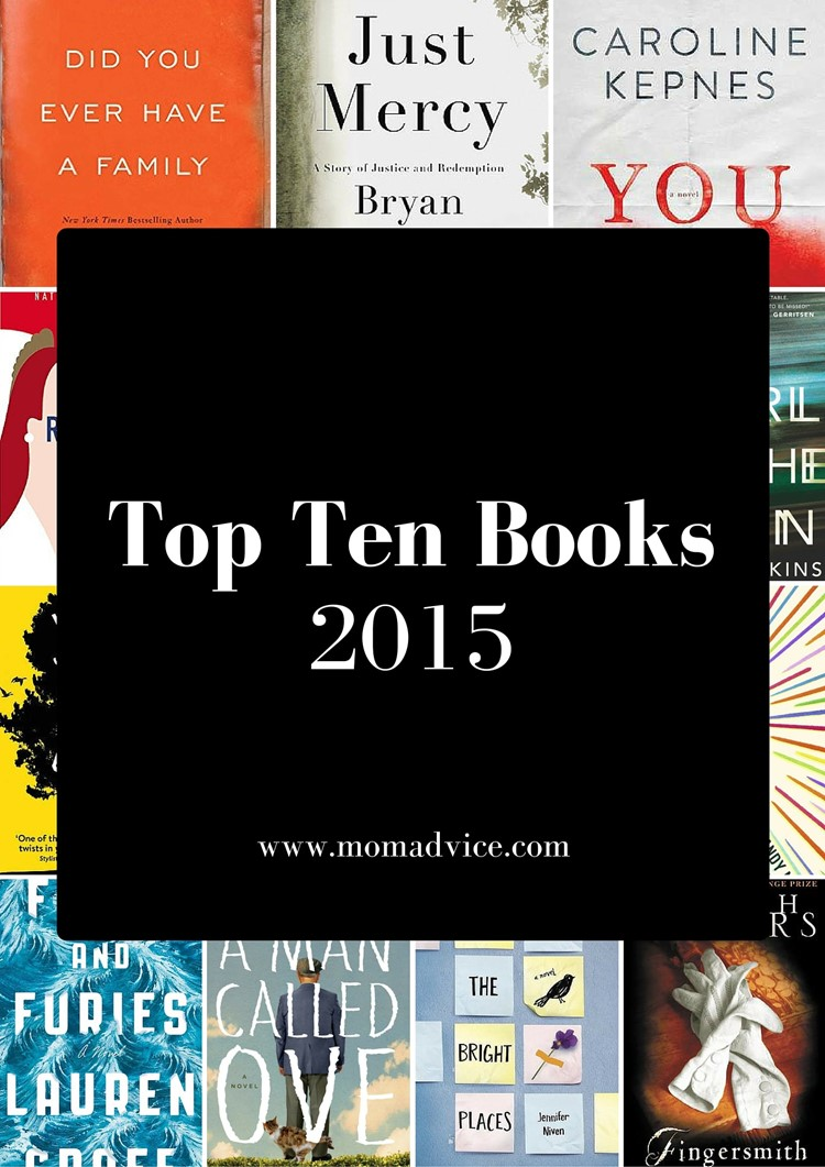 Best Books of 2015 from MomAdvice.com