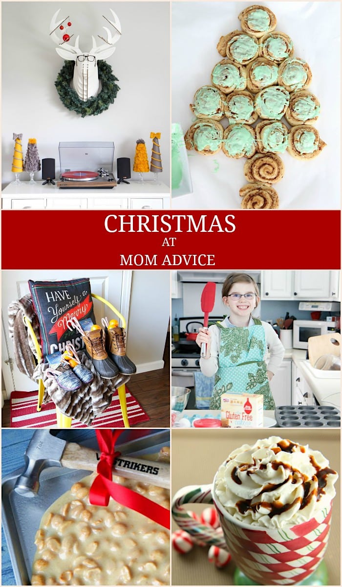 Christmas at Mom Advice-Traditions Decor and Food