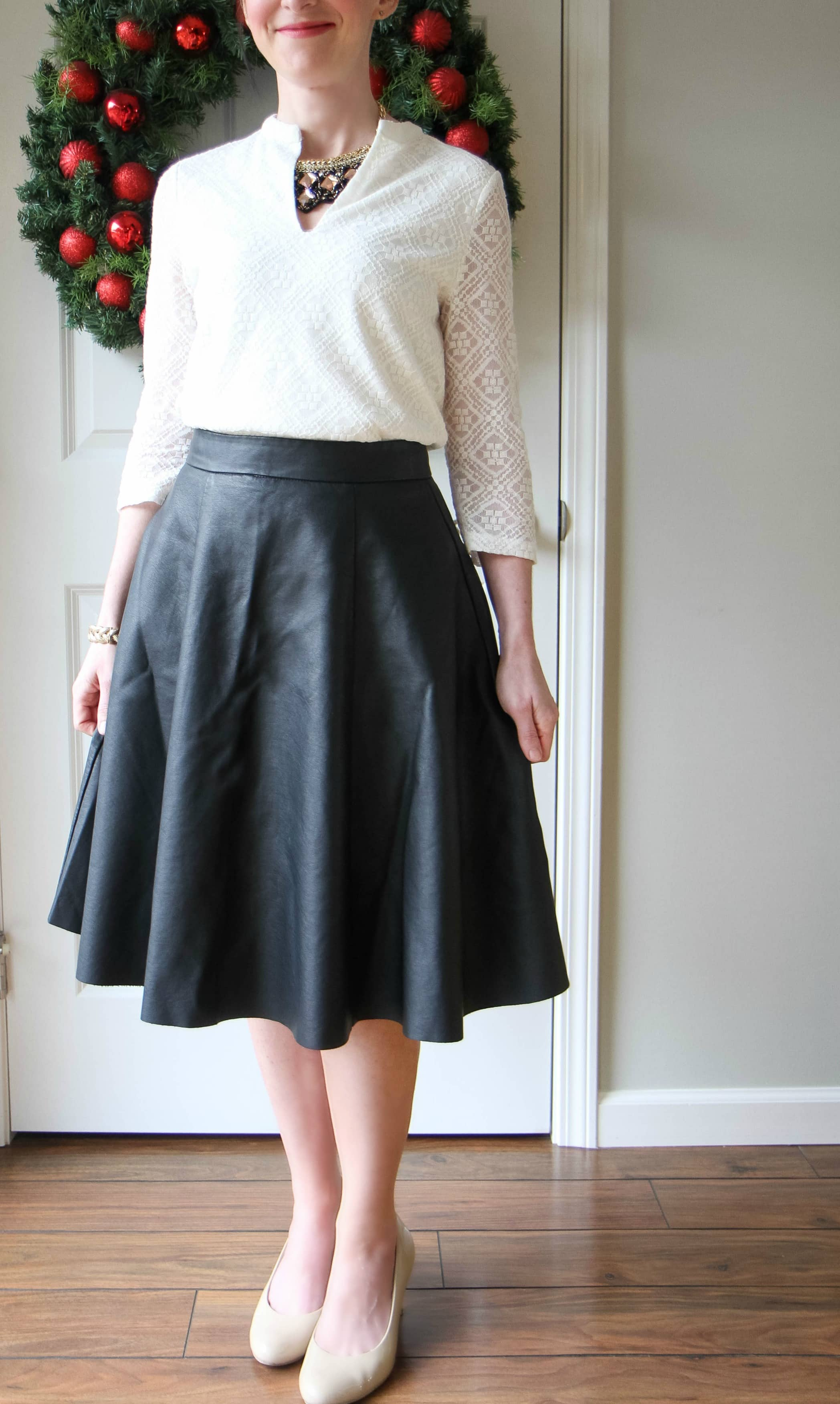 Leather Midi