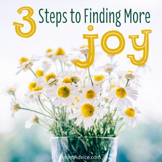 3 Ways to Find More Joy This Year