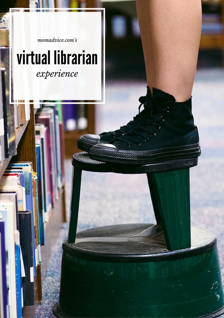 The Virtual Librarian Experience from MomAdvice.com