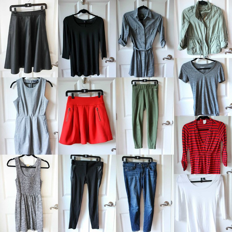 Winter 2016 Fashion Capsule Wardrobe Project from MomAdvice.com