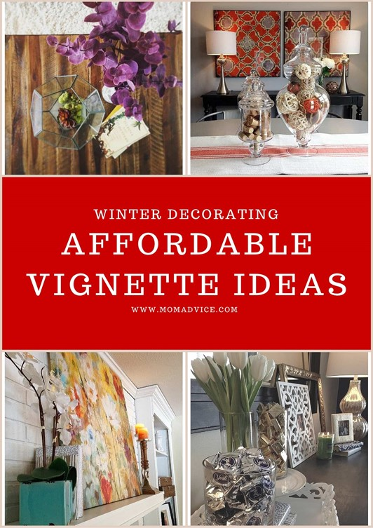 How to Create Vignettes in Decorating