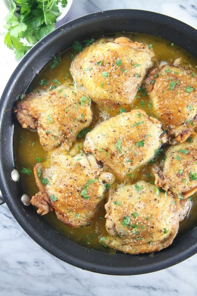 Lemon Paprika Chicken from MomAdvice.com.