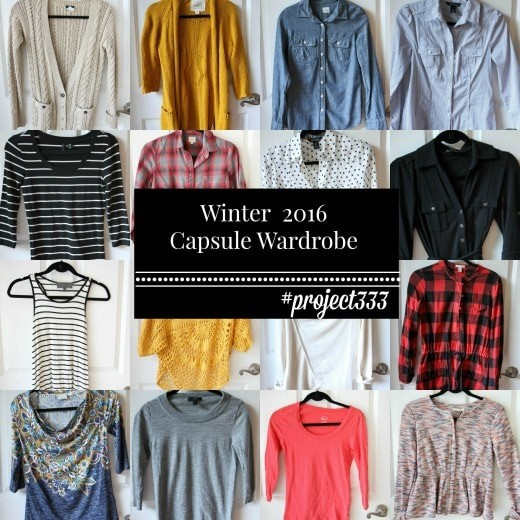 Winter 2016 Fashion Capsule Wardrobe Project