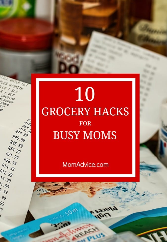 10 Grocery Hacks for Busy Moms
