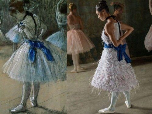Degas Dance Recreation via Hello Giggles