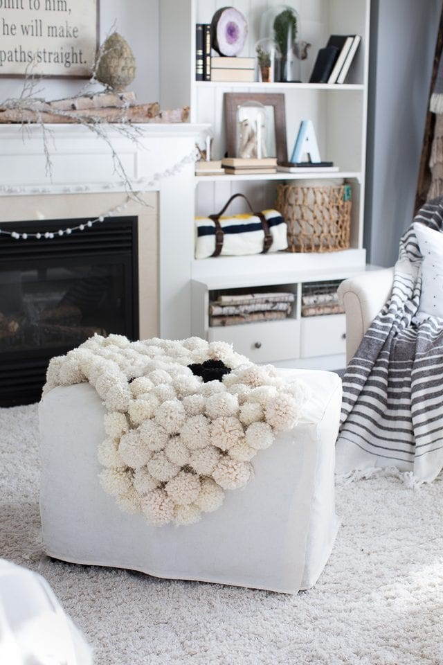 Make a Pom-Pom Rug via eHow