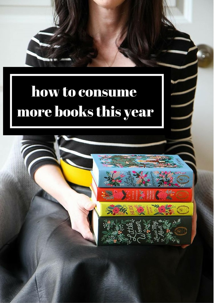 How to Consume More Books This Year from MomAdvice.com