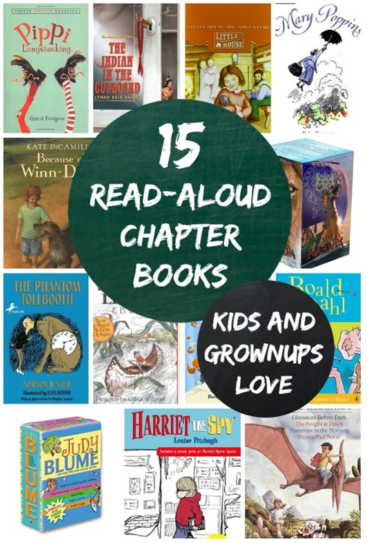 15 Read-Aloud Chapter Books Everyone Loves
