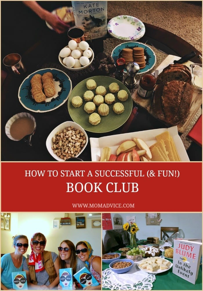 How to start a successful and fun book club with Nicole Bennet for MomAdvice