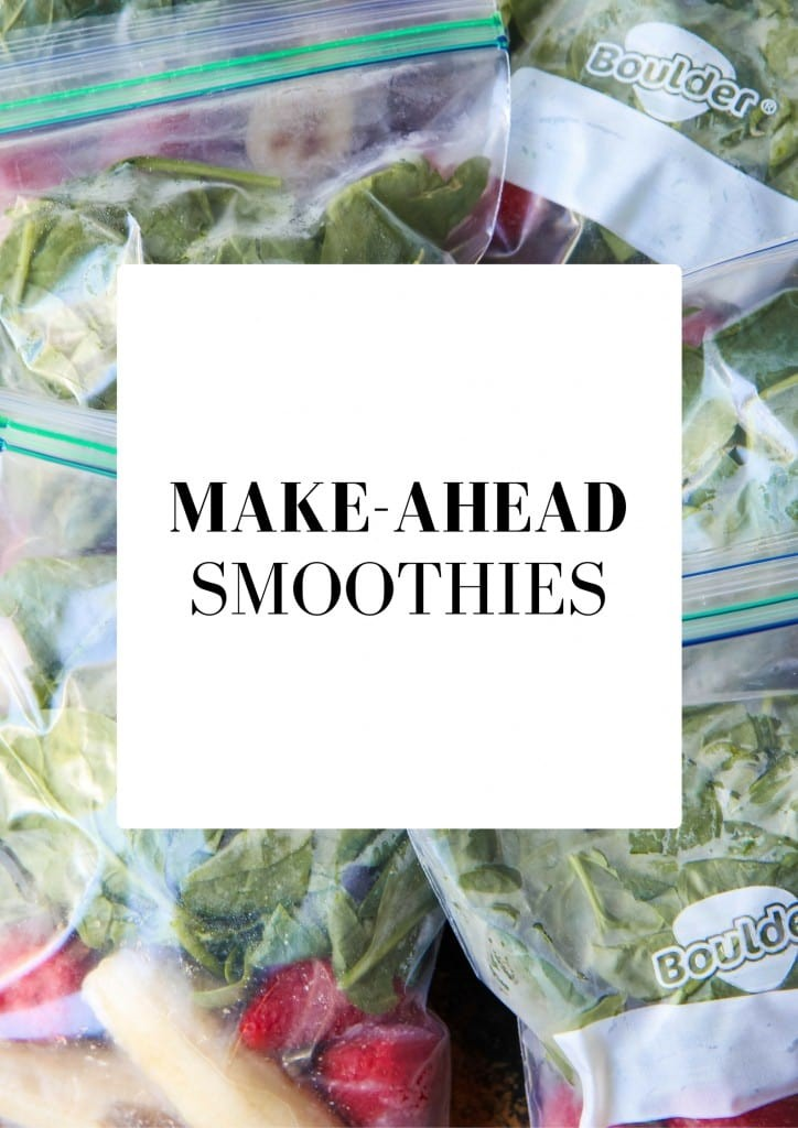 Make-Ahead Smoothie Packets from MomAdvice.com