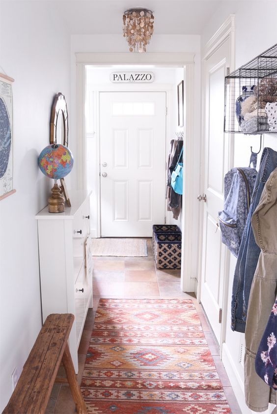 Small Entry Makeover via The Inspired Room