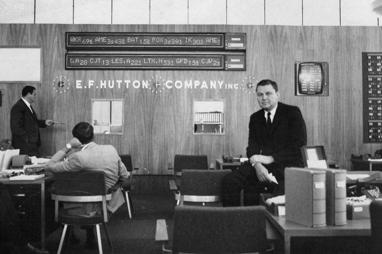 E.F. Hutton Suit