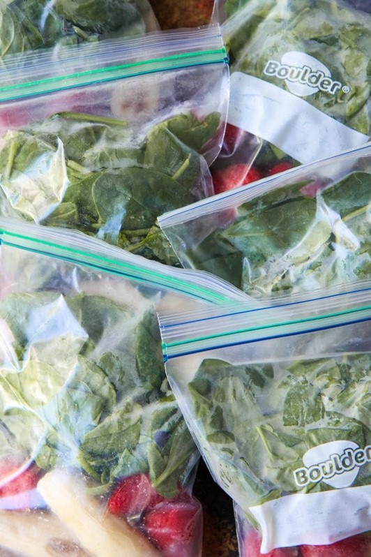 Make-Ahead Smoothie Packets For Your Freezer