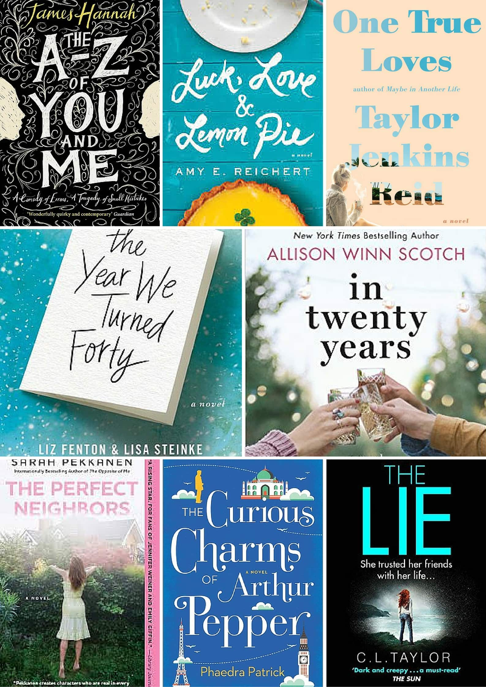 Summer 2016 Book Releases