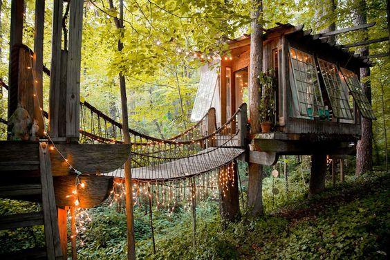 Airbnb Tiny Houses via Thrillist