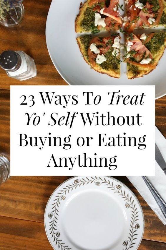 Treats that Aren't Shopping or Eating via Yes and Yes