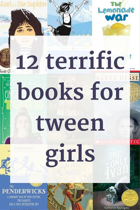Tween Girl books via Modern Mrs. Darcy