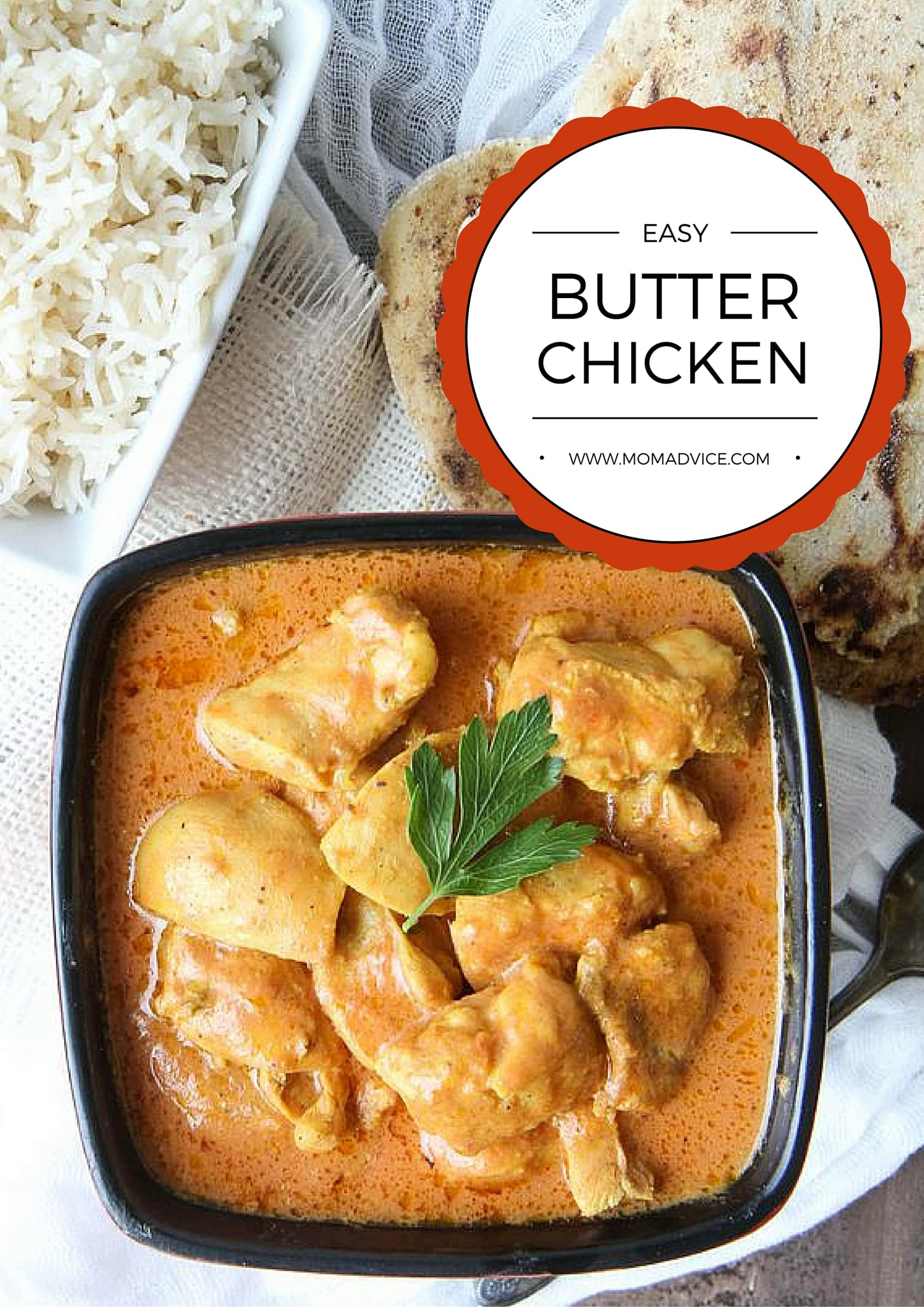 Butter Chicken from MomAdvice.com