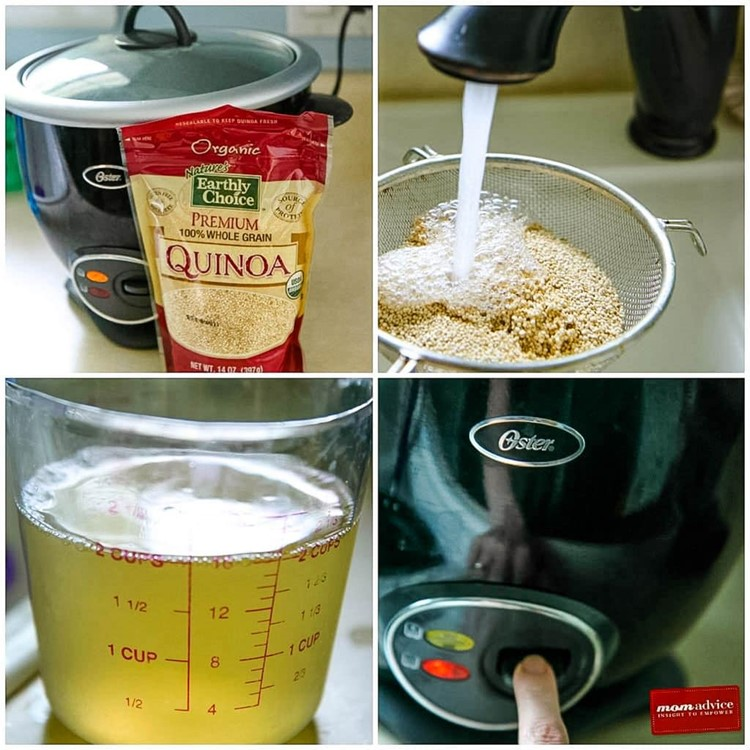 How to Make Quinoa in the Rice Cooker from MomAdvice.com