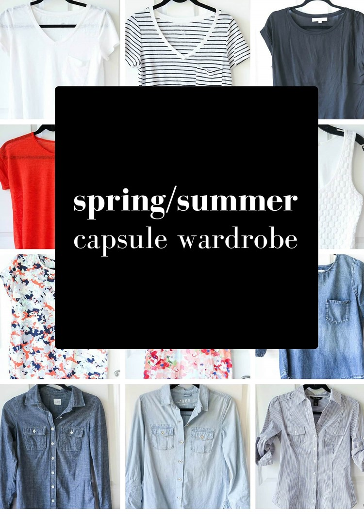 spring/summer capsule wardrobe 2016