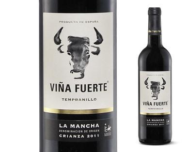 Vina Fuerte Tempranillo La Mancha Wine