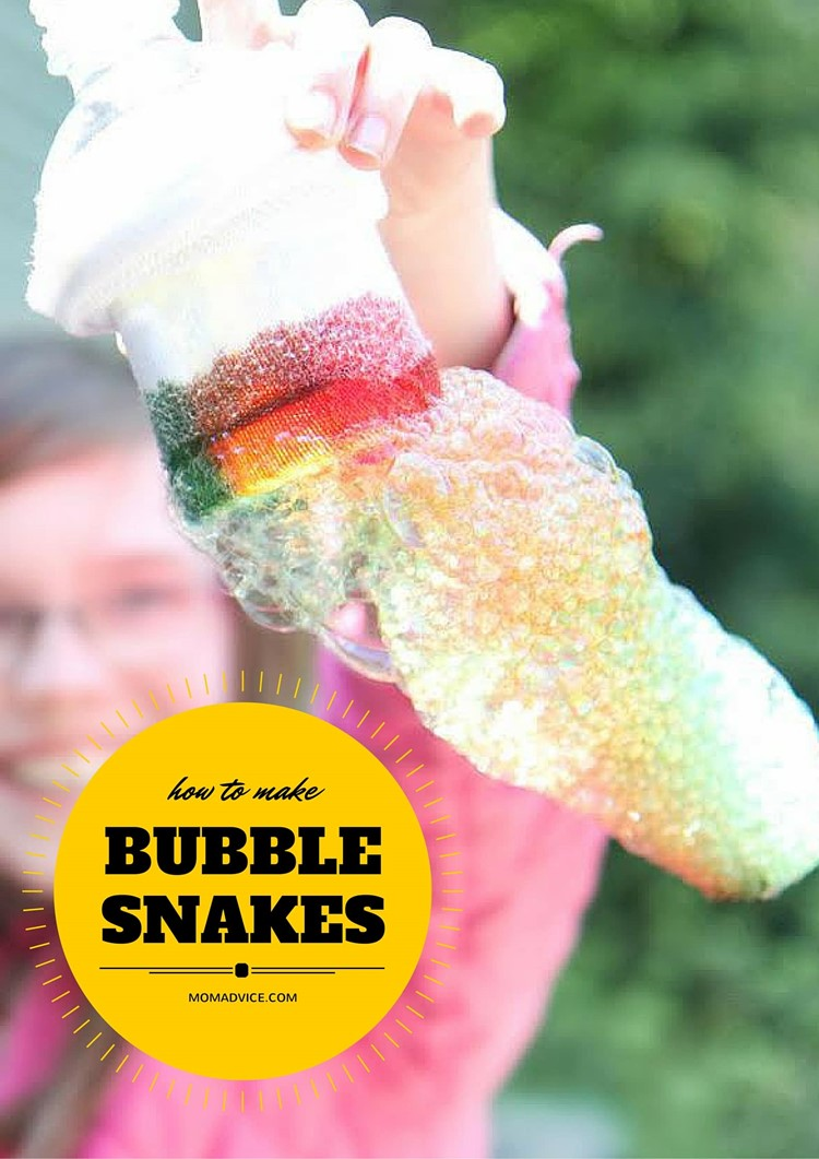 Bubble Snakes from MomAdvice.com
