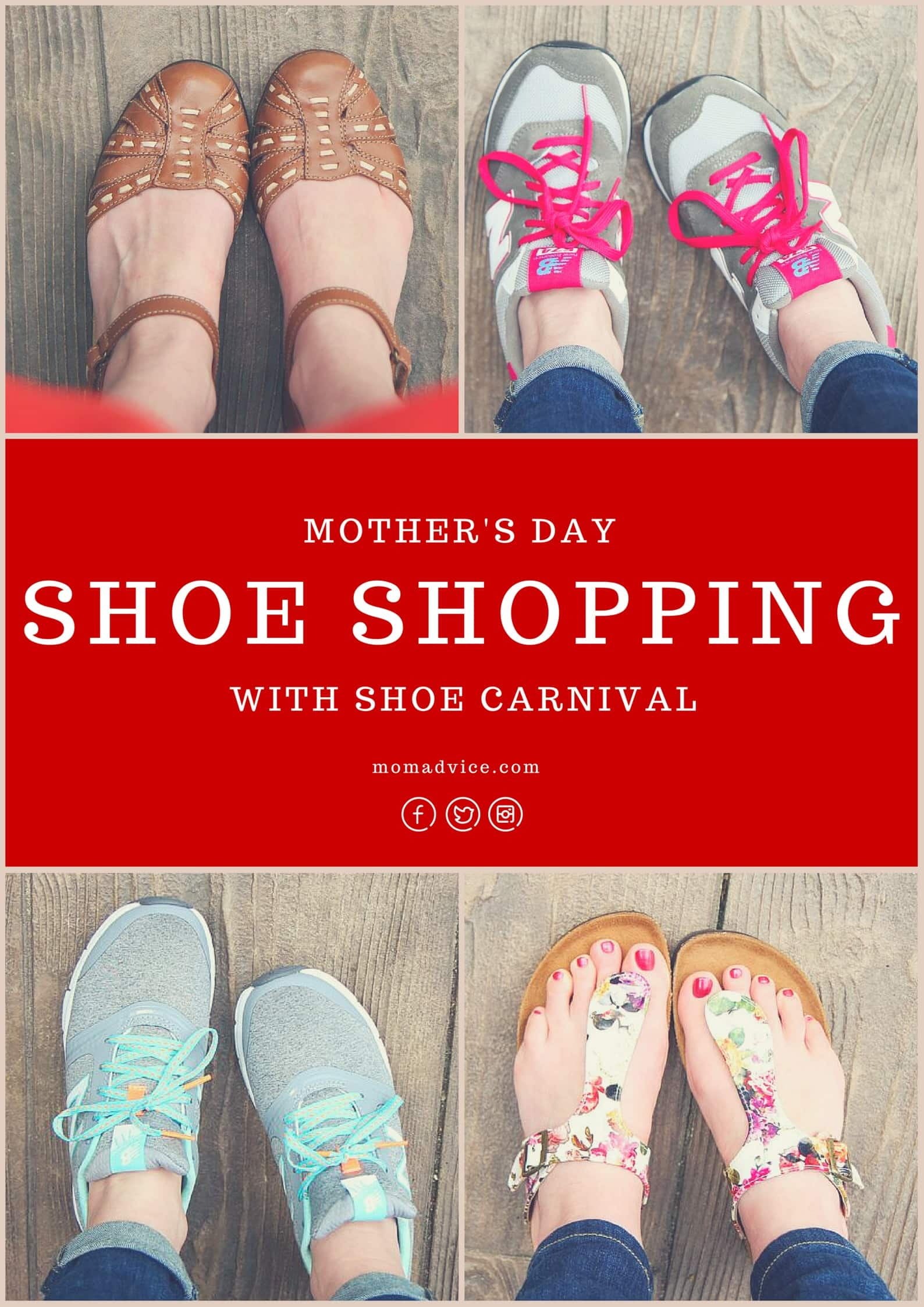 Mother's Day Shoe Shopping With Shoe Carnival