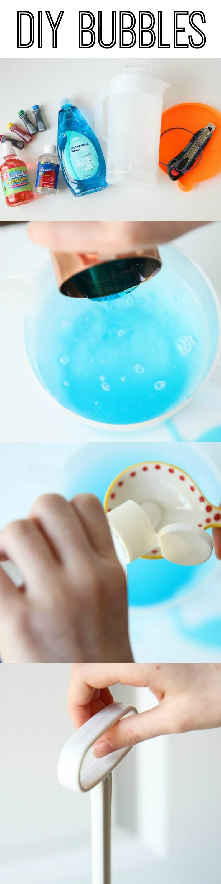 DIY Bubbles Recipe from MomAdvice.com