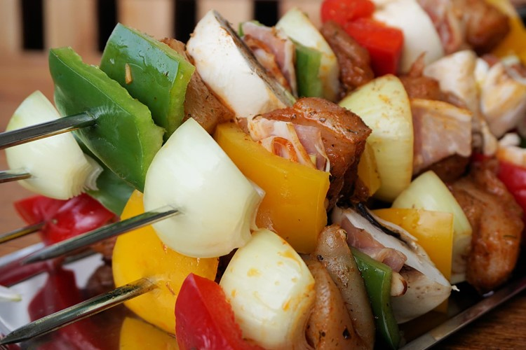 Kabobs for grilling