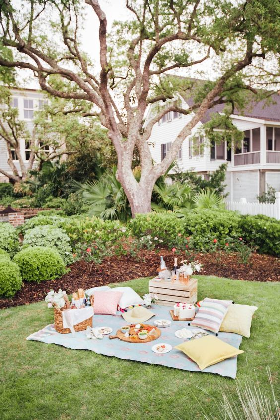 Picnic like an Event Planner via Camille Styles