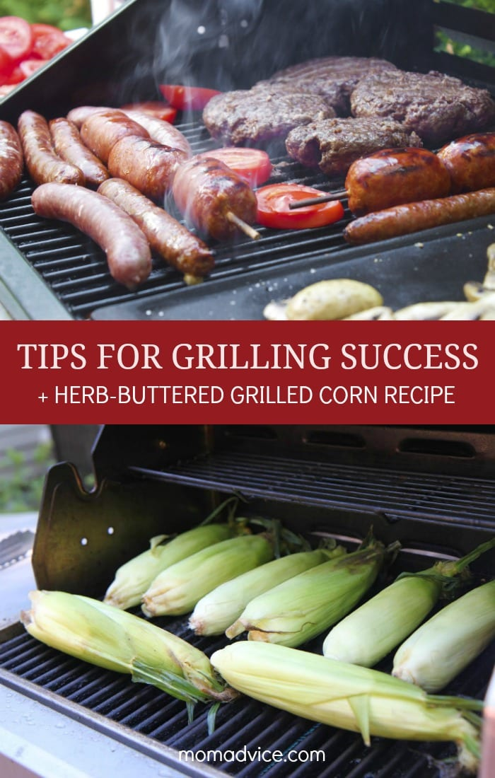 Tips and Tricks for successful grilling plus our family's favorite grilled corn recipe!