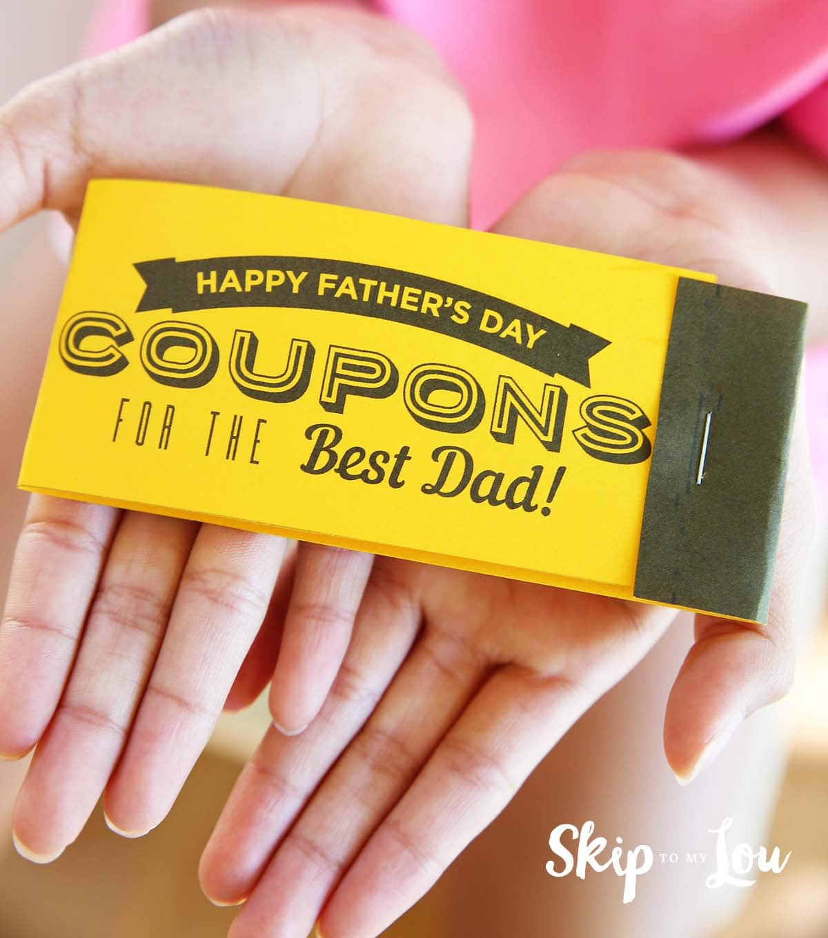 fathers-day-coupon-book via Skip to My Lou