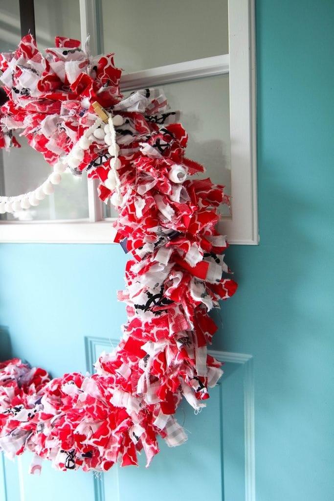 Fabric Wreath & Garland