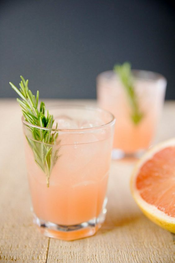 2-ingredient cocktails via My Domaine