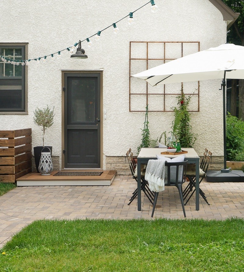 DIY backyard before and after via Apartment Therapy