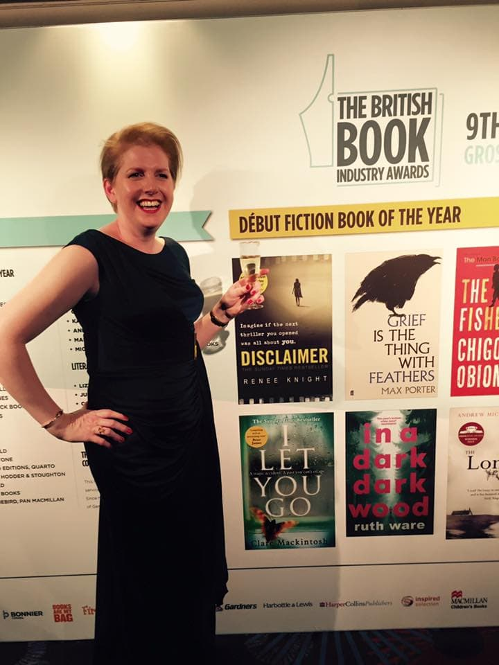 I Let You Go at the British Book Industry Awards