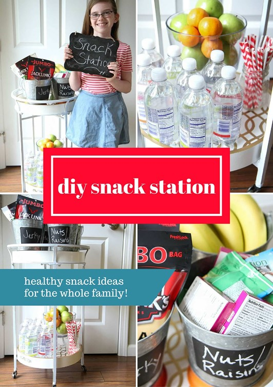 DIY Snack Station
