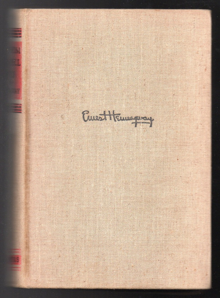 First Edition Ernest Hemingway