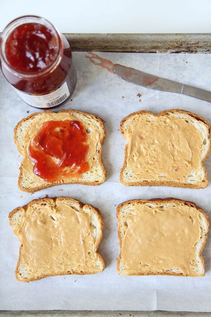 prep peanut butter & jelly