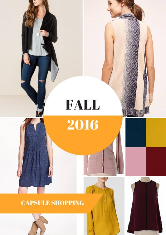 Planning My 2016 Fall Wardrobe Capsule