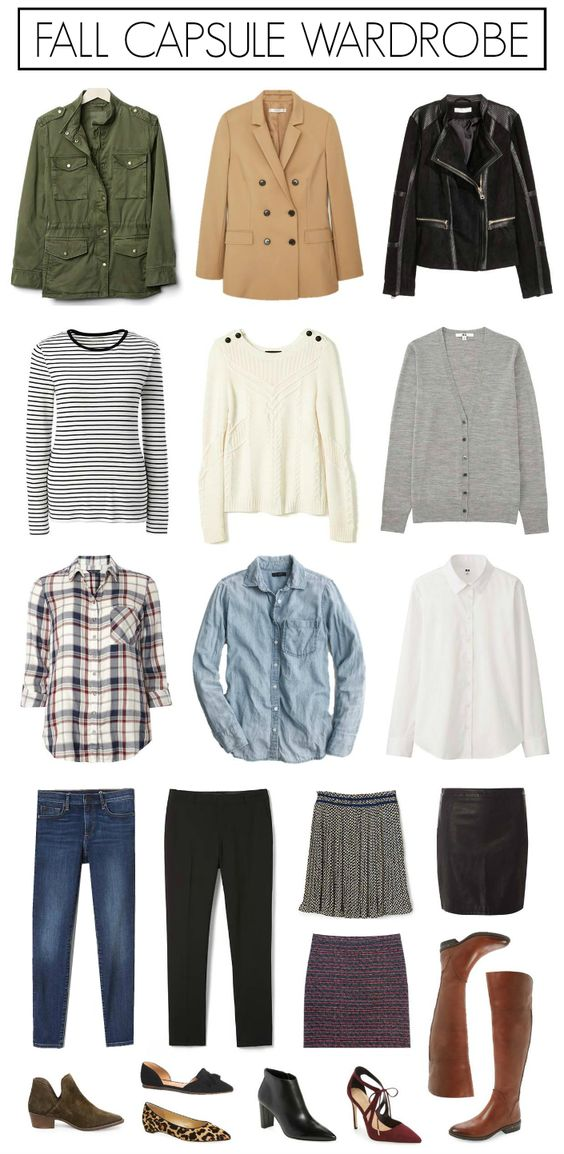 Fall 2016 Capsule Wardrobe via Penny Pincher Fashion