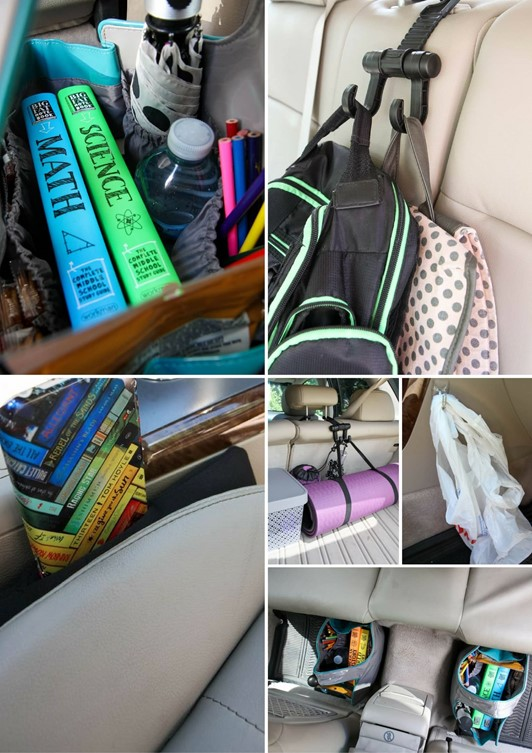 DIY Car Organizing Tips (Giveaway with Big Fat Notebooks!)