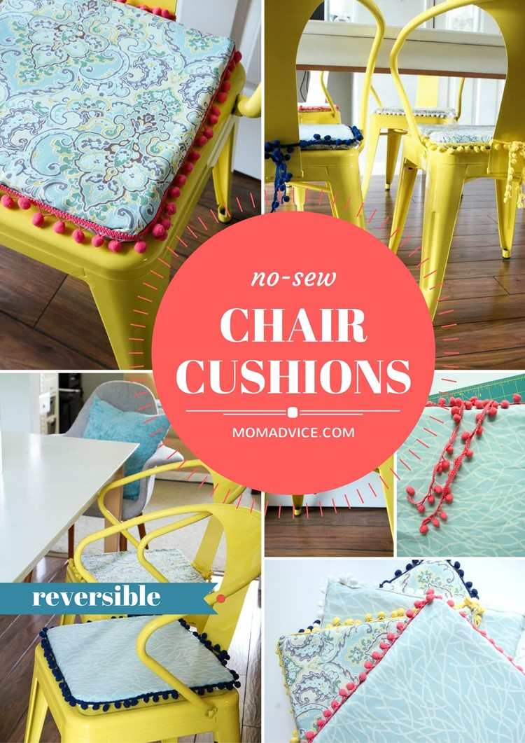 diy-no-sew-reversible-chair-cushions